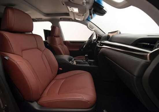 Салон Lexus LX 570 2016 года