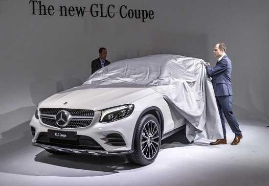 Mercedes GLC Coupe на Автосалоне в Нью-Йорке 2016 года