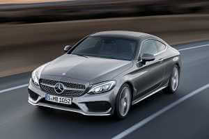 Автопремьера Mercedes-Benz C-class Coupe 2016