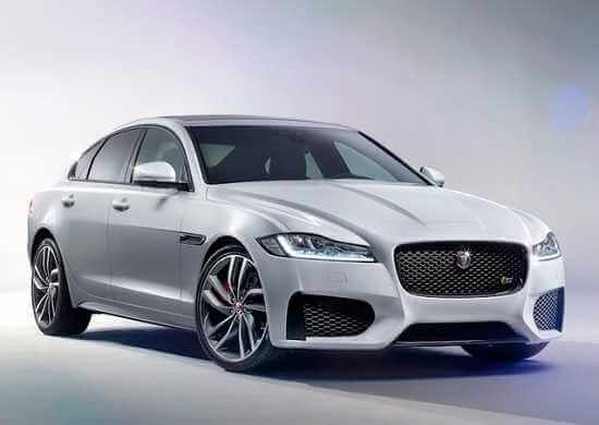 Новый Jaguar XF 2016 года