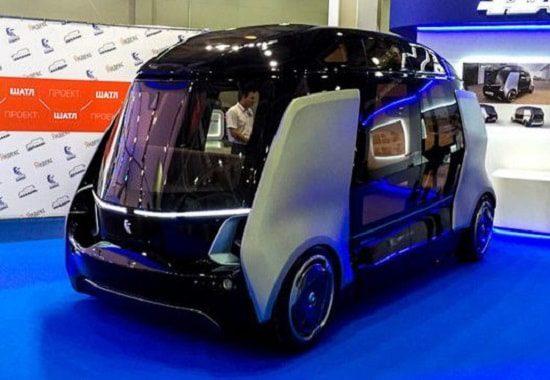 Беспилотный пассажирский шаттл от НАМИ