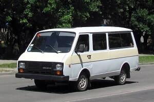 Микроавтобус RAF 2203