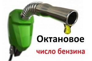 Октановое число бензина