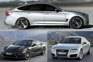 Хэтчбеки: BMW 3 Series, Audi A7, Porsche Panamera