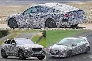 Заряженные версии 2017-2018: Jaguar, Audi, Hyundai