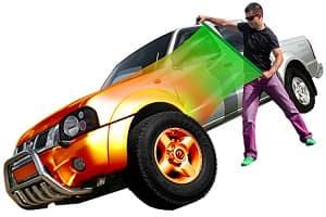 Защита кузова автомобиля виниловой пленкой