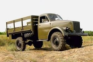 ГАЗ-63 - грузовик с богатой историей!