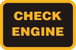 Загорелся индикатор Check Engine