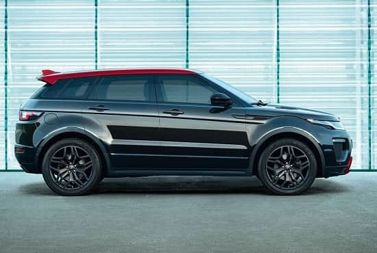 Range Rover Evoque в ограниченной версии Ember