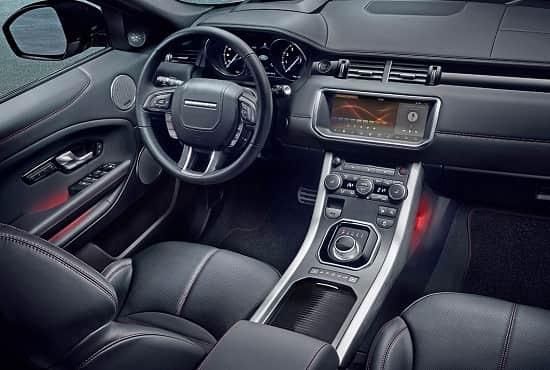Салон Range Rover Evoque Ember