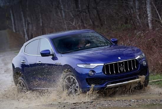 Кросовер Maserati Levante 2017