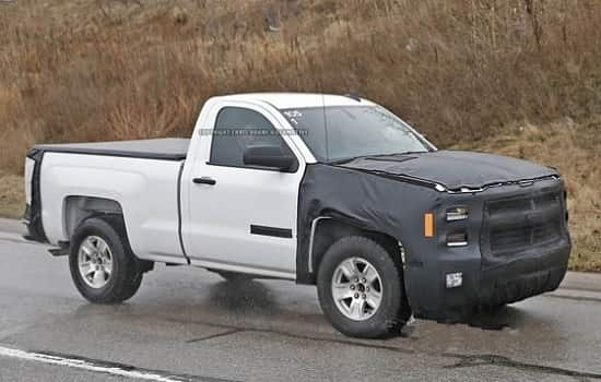 Chevy Silverado 2018 года