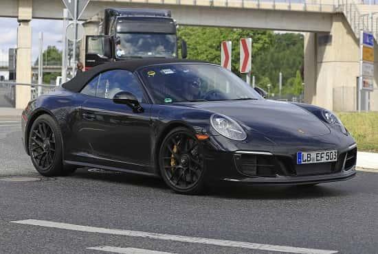 Porsche-911 GTS 2018