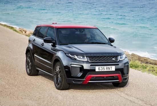 Range Rover Evoque 2018 года