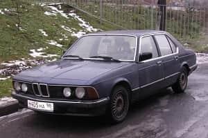 BMW 732 iA в кузове E23 Семерка БМВ