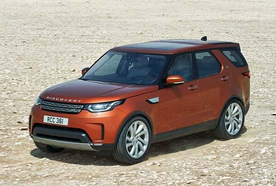 Land Rover Discovery 5 2017-2018 года