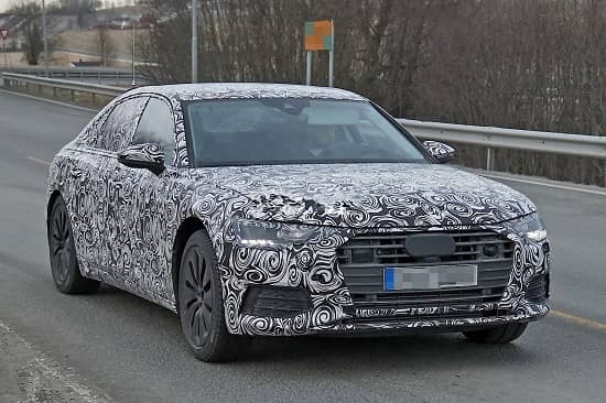 Бизнес-седан Audi A6 2018 года