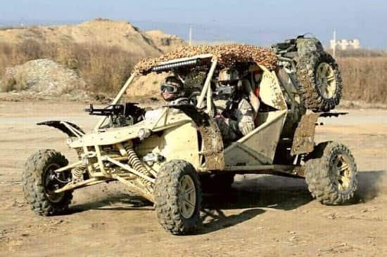 Военный багги российского производства