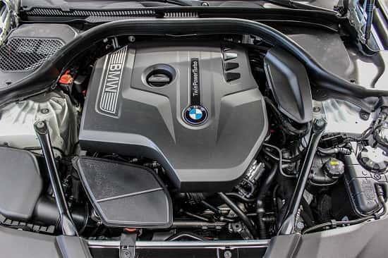 Двигатель BMW 5 Series 2017 года