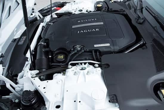 Двигатель Jaguar F-Type Cabrio