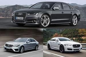 Заряженные седаны F-класса Audi, Jaguar, Mercedes-Benz