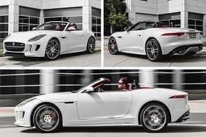 Jaguar F-Type Cabrio 2017 года