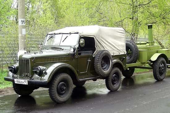 Внедорожник ГАЗ-69