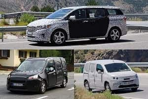 Минивэны 2018 года Citroen Berlingo, Kia Sedona, Ford Transit Connect