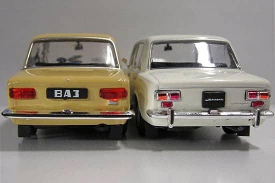 Отличия ВАЗ-21011 от ВАЗ-2101 сзади