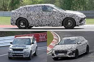 Спортивные кроссоверы Lamborghini, Land Rover, Audi