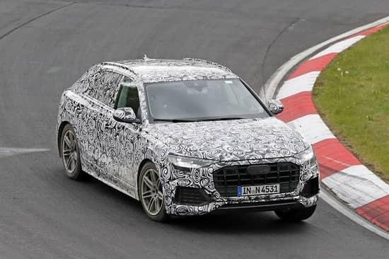 Audi RS Q8 на Нюрнбургринге