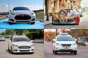 Автомобили будущего: Tesla, Ford, Waymo, BMW