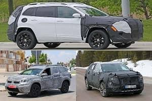 Компактные кроссоверы 2018 года Renault, Cadillac, Jeep
