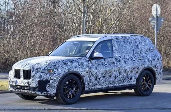 Люксовый кроссовер BMW X7