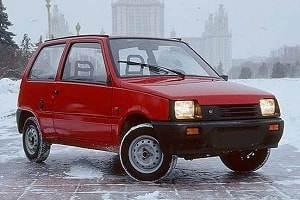 Микролитражка-ВАЗ-1111-Ока-1989-года