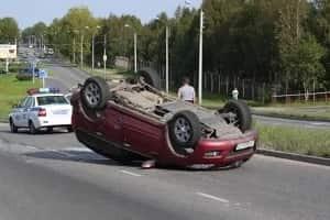 Переворот автомобиля