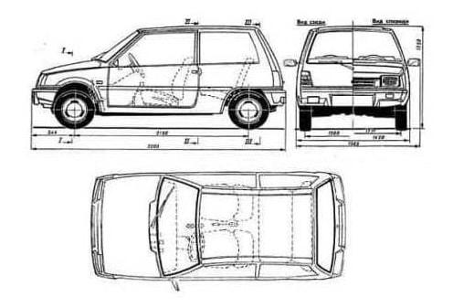 Схема-ВАЗ-1111-Ока