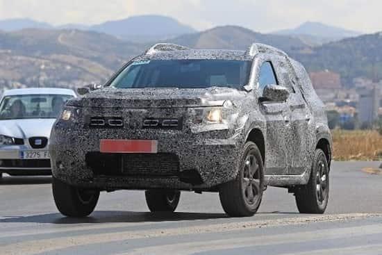Dacia-Duster 2018 года
