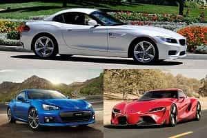 Купе 2018 года BMW Z4, Subaru BRZ, Toyota Supra