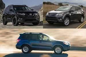 Кроссоверы с МКПП: Nissan X-Trail, Toyota RAV4, Subaru Forester