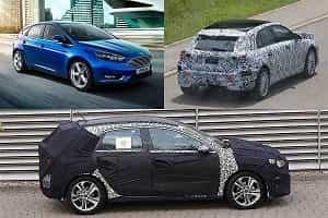 Хэтчбеки 2018 года Ford Focus, Mercedes-Benz A-Class, Kia Ceed