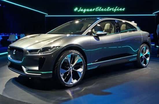 Jaguar I-Pace на Франкфуртском Автосалоне 2017 года