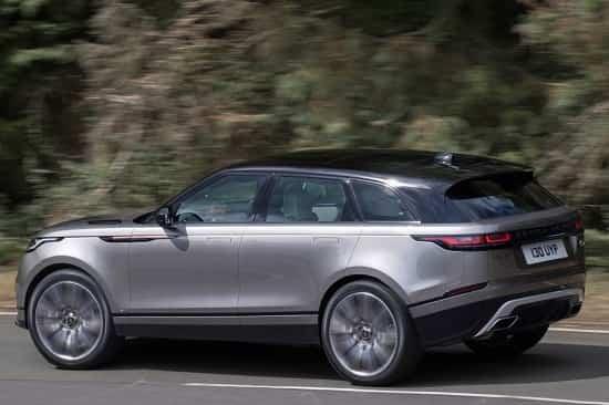Range Rover Velar сбоку