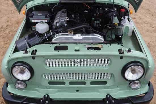 Двигатель УАЗ 469 Хантер