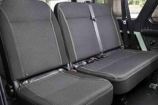 Задний ряд УАЗ 469 Хантер