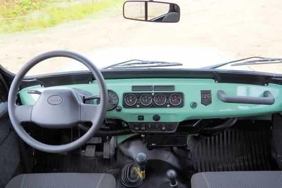 Салон УАЗ 469 Хантер