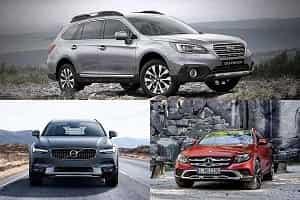 Универсалы повышенной проходимости Subaru, Volvo, Mercedes-Benz