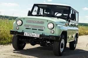Юбилейный УАЗ 469 Хантер