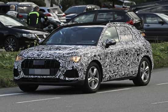 Audi Q3 2018 года