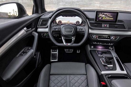 Салон Audi Q5 2 поколения